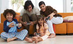 Family schedules can be hectic. Set aside a night to spend time with each other.