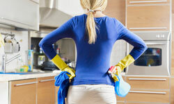 Keeping your kitchen clean is about more than just appearances. It's about good health.