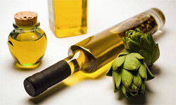 The olive oil we can vouch for as a makeup remover. Don't get any ideas about those artichokes though.