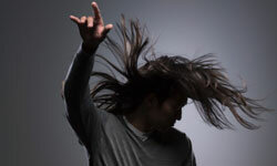 Take proper care of your long hair, and it will look great. See more men's health pictures.