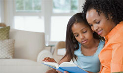 Image Gallery: Parenting When was the last time the two of you curled up with a good book? See more parenting pictures.