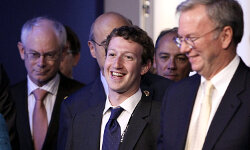 Zuckerberg has been known to wear a tie from time to time, like when he met with world leaders and businesspeople at the 2011 G8 summit in Paris.
