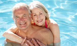 Getting older doesn't doom you to a life of senility or being cooped-up indoors wearing adult diapers. Most people can remain healthy, active, continent and even intimate well into their senior years. See more healthy aging pictures.