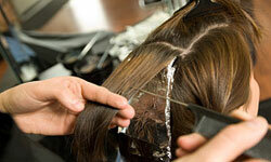 Having your hair colored can be hard on your scalp.