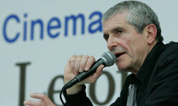 French director Claude Lelouch speaks in the Master Class during the Pusan International Film Festival in Pusan, south of Seoul, on Oct. 10, 2007.