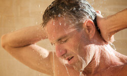 Getting the most out of your shower takes more than just water and a bar of soap. What else do you need to feel clean and refreshed? See more men's health pictures.