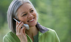 Set up a weekly phone call with your child.