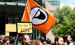 As of spring 2012, Germany's Pirate Party was poised to become the nation's third-largest political party.