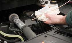 Change your car's oil and oil filter regularly -- and always follow the manufacturer's recommended intervals.