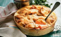 You can bake fall vegetables into your family's favorite casserole.