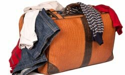 Overpacking: the easiest way to wind up spending your vacation ironing wrinkled clothes.