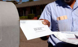 Be sure to fill out a change of address request form with the U.S. Post Office.