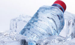 A few bottles of water can really help movers on a hot day.