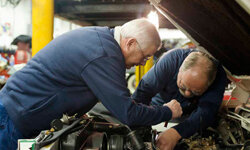 When an engine sits idle for a long time, all of the hoses can deteriorate and develop cracks.