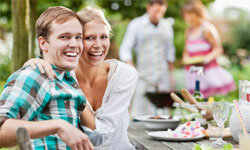 Whether it's a semiformal event at a steakhouse or a backyard barbecue, the mother of the groom can be counted on to throw a fabulous party.