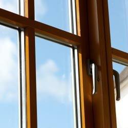 Clean windows let the sun shine through.