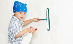 All it takes to have spotless walls is a little bit of work and a few of our simple tricks.