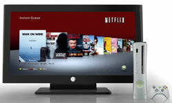 Netflix can stream TV shows and movies through a variety of devices, including gaming systems like the Xbox 360.