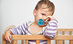Many cribs today can be converted into toddler beds, which will save you serious money in the not-too-distant future.