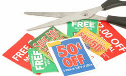 Clipping coupons is time consuming, but it can save you money.
