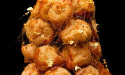 Croquembouche is staggeringly sophisticated and scrumptious.