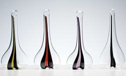 These decanters double as works of art when not in use.