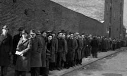 During the Great Depression, a line of some 7,000 men applied for 25 open positions.