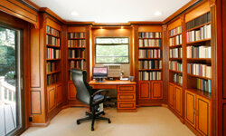 With more people teleworking, home offices are becoming increasingly valuable to buyers.