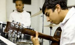 If your tween shows interest in an instrument, offer some encouragement.