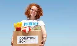Suggest volunteering so your child can get an early start on community service.