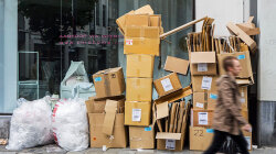 Has Online Shopping Changed How Much Cardboard We Use?