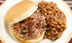 In the South, barbecue is king when it comes to meaty sandwiches.