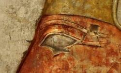Egyptian men wore primitive eyeliner. See pictures of unusual skin ingredients.