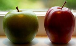 An apple may keep the doctor and your heartburn away.