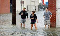 Many deaths from 2011's Hurricane Irene occurred after the storm hit when people returned to survey the damage and were carried away by unexpected torrents of water.