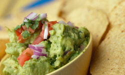 A good guacamole is always a hit.