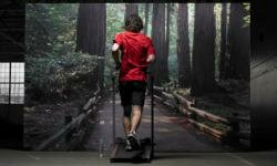 This is a creative way to make your treadmill experience more interesting.