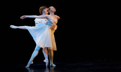 "Birmingham Royal Ballet dancers Joseph Caley and Jenna Roberts perform a pas de deux from ""Romeo and Juliet."""