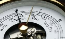 Barometers are used to predict the weather.