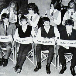 The Beatles had a huge influence on popular culture, including this hairstyle called the Mop Top.