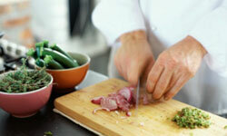 Good knives offer precision, ease and greater safety.