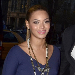 Beyonce Knowles out in New York City in March 2012.