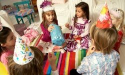 With the right kind of creativity, an indoor party at home can provide hours of fun.