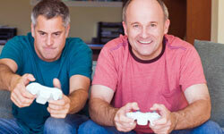 The average age of a video game purchaser is 41, and 39 percent of all gamers are over the age of 50.