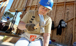 If you can lift a hammer, you can volunteer for Habitat for Humanity.