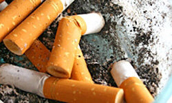 Smoking can increase the risks of osteoporosis.