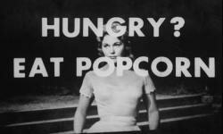 "Kim Novak wants you to buy popcorn when you watch ""Picnic."""