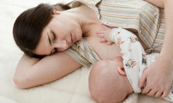 Breast-feeding can help lower a mother's chance of developing certain diseases and conditions.