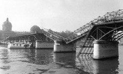 Sometimes, bridges collapse due to design flaws.