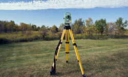 Having a new survey will clearly define your property line.